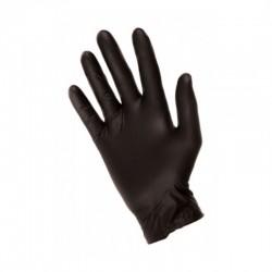 Černé nitrilové rukavice - pár