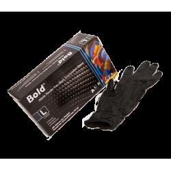 Černé nitrilové rukavice 100ks